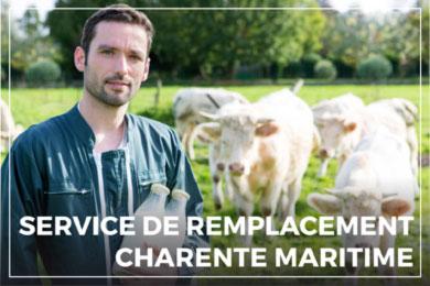 Service de remplacement Charente-Maritime