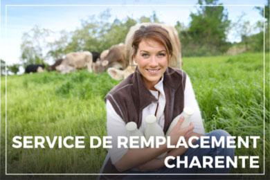 Service de remplacement Charente